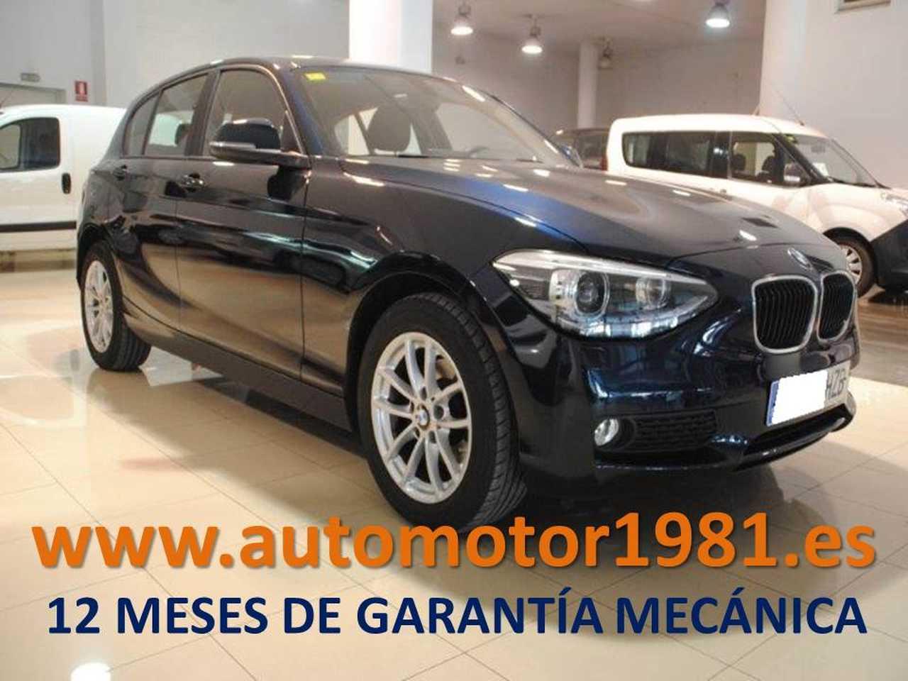BMW Serie 1 118 d - 12 MESES GARANTIA MECANICA  - Foto 1
