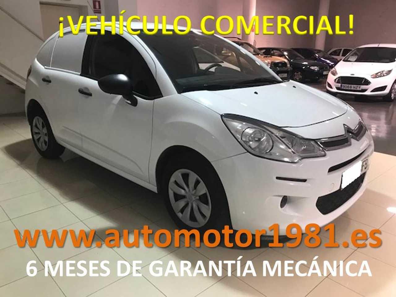Citroën C3 Comercial HDi 70 - 6 MESES GARANTIA MECANICA  - Foto 1