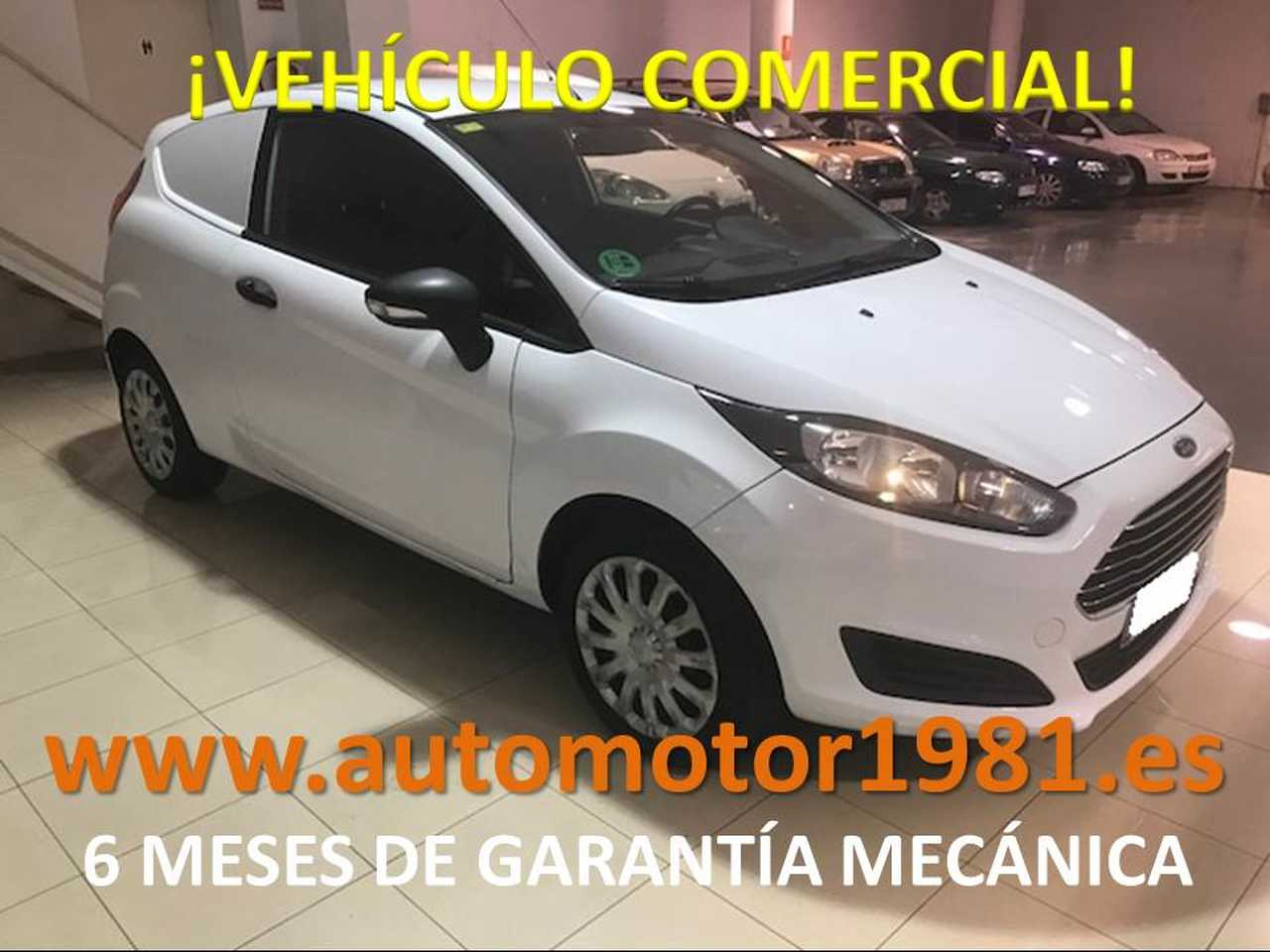 Ford Fiesta Van 1.5 TDCi - 6 MESES GARANTIA MECANICA  - Foto 1