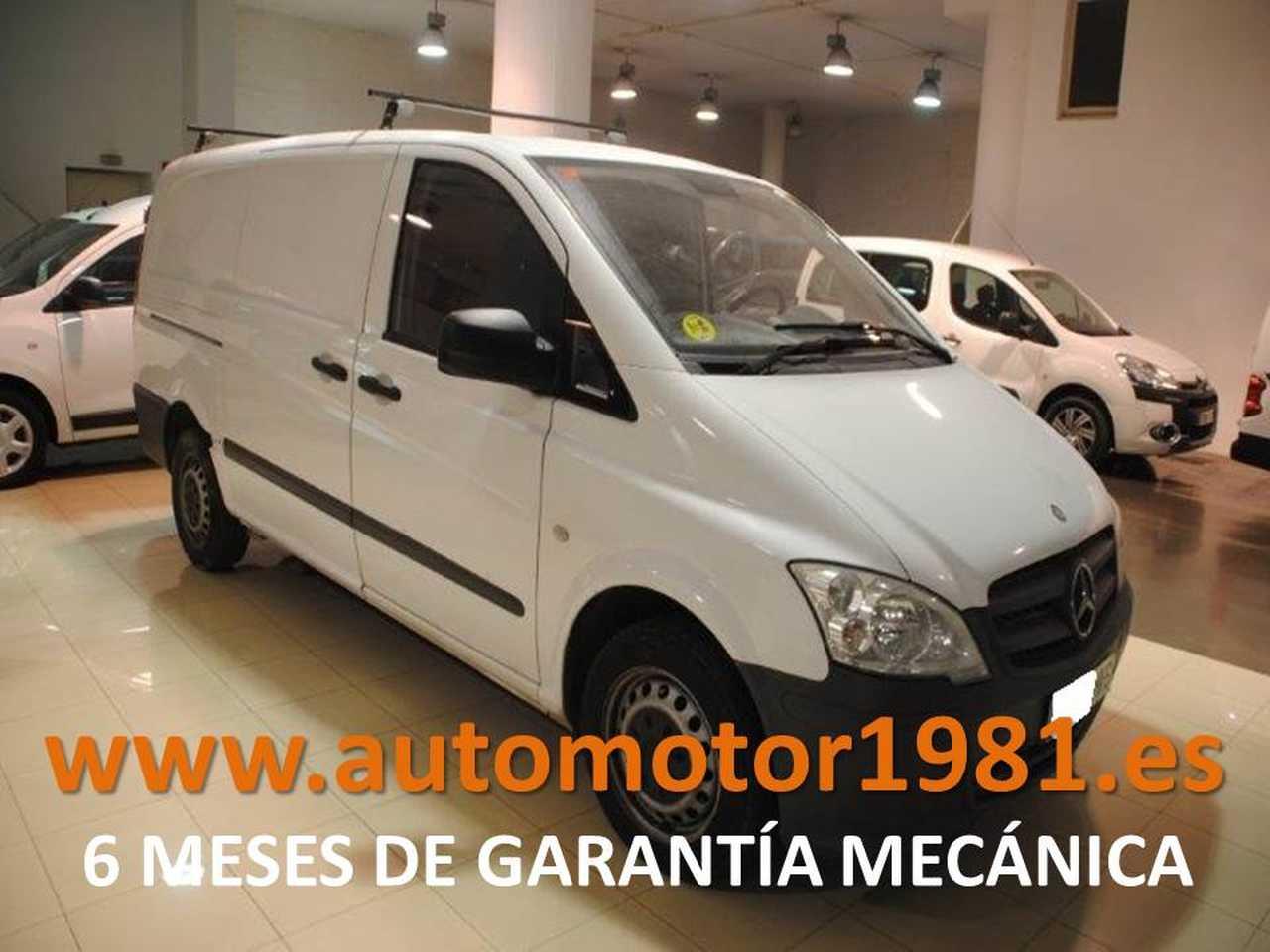 Mercedes Vito Furgón 113CDI Larga - 6 MESES GARANTIA MECANICA  - Foto 1