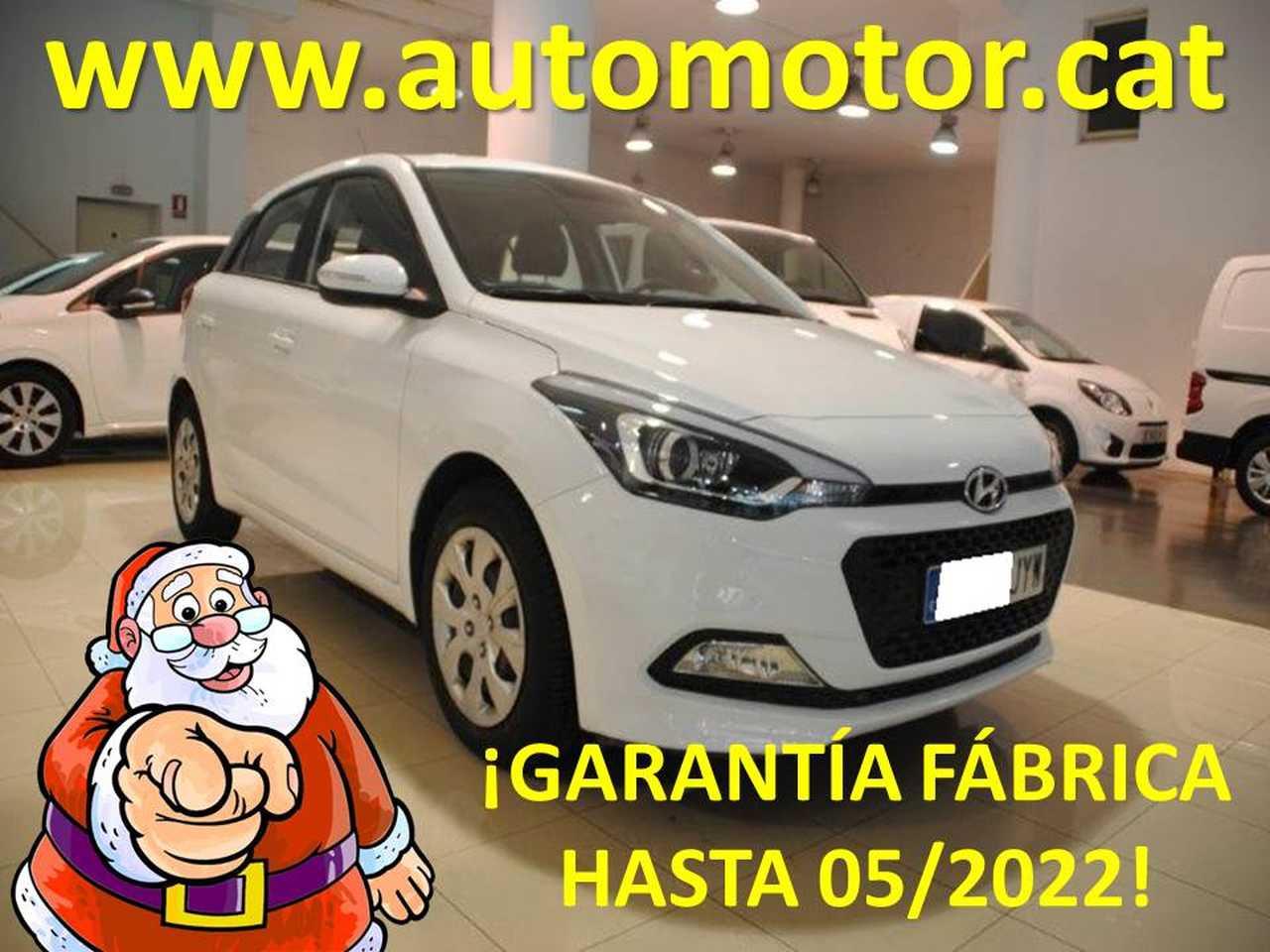 Hyundai i20 1.4CRDI Klass  - GARANTIA FABRICA HASTA 05/2022  - Foto 1