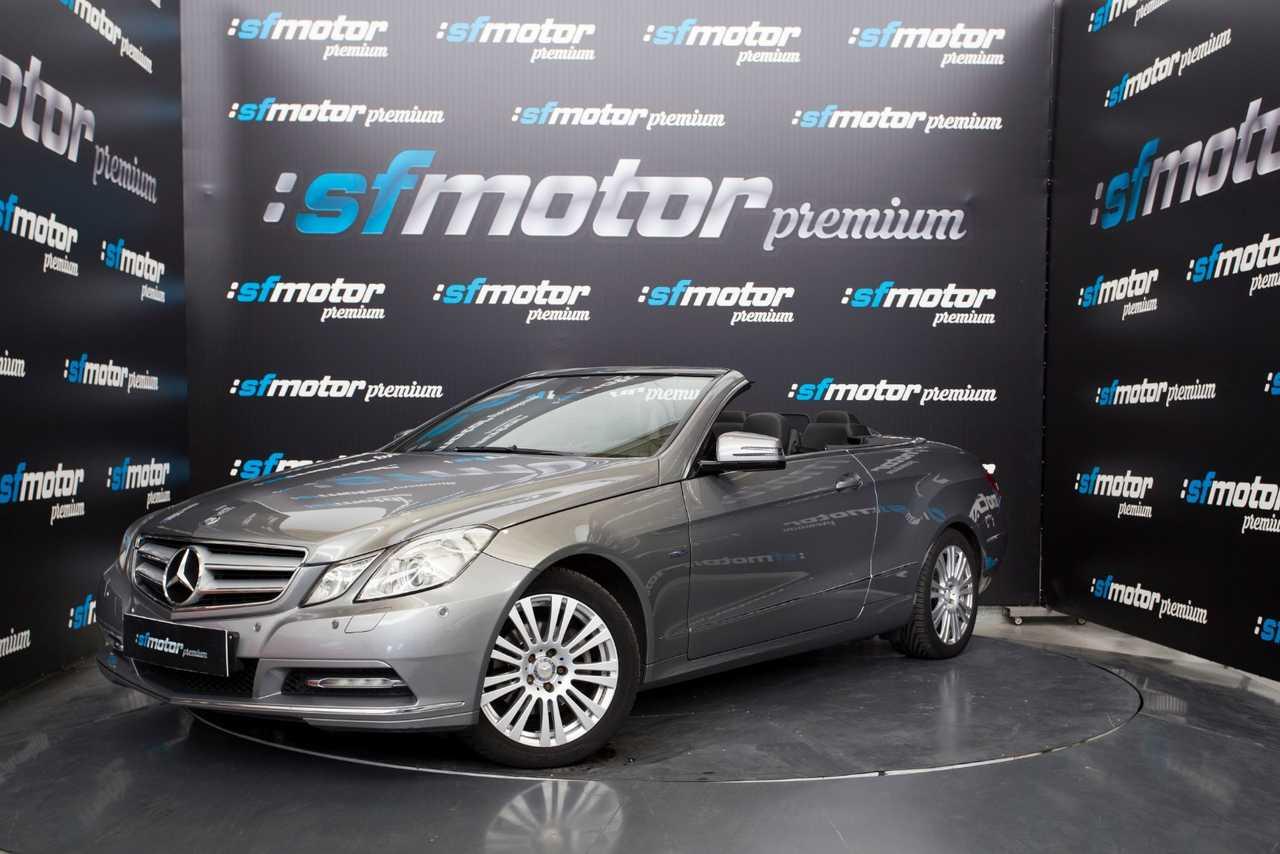 Mercedes Clase E Cabrio E220 CDI BlueEfficiency Avantgarde 170cv   - Foto 1
