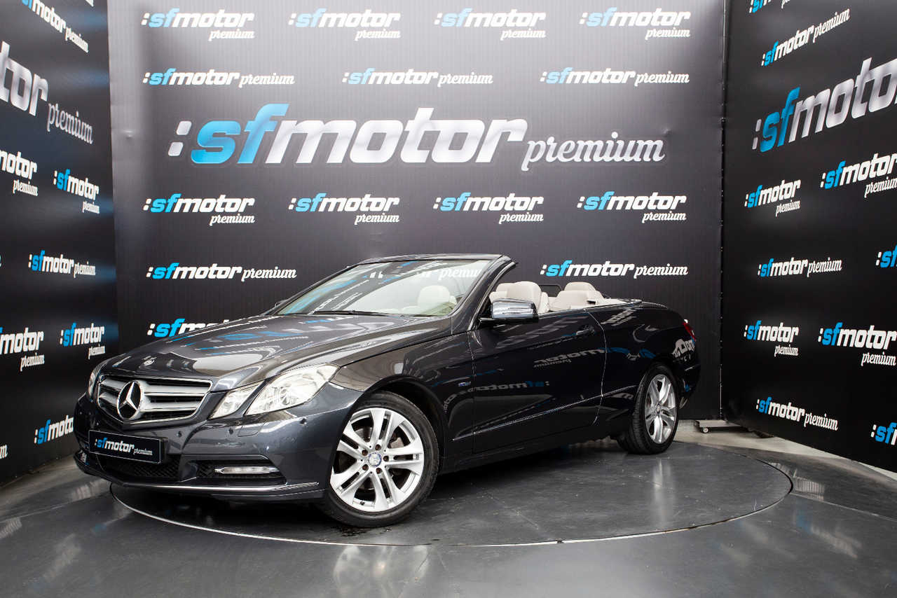 Mercedes Clase E Cabrio E220 CDI BlueEfficiency 170cv Auto   - Foto 1