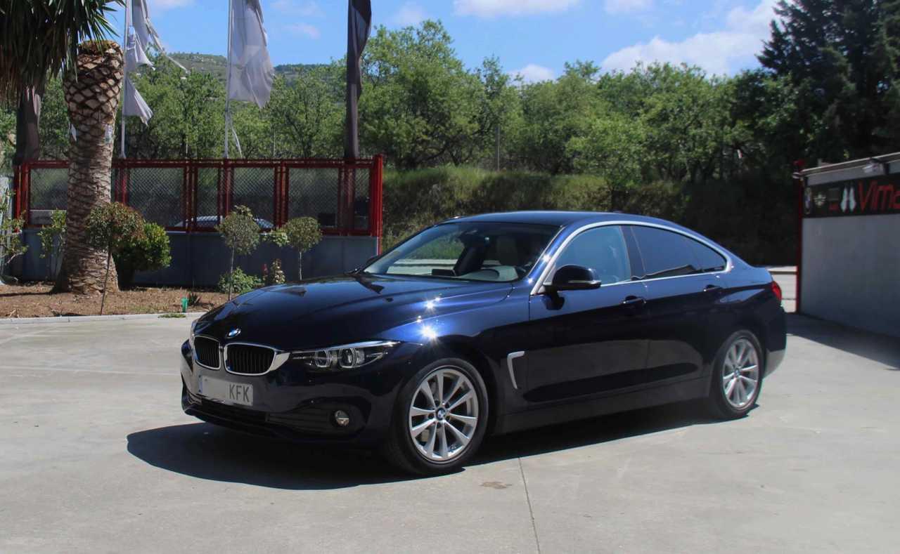 BMW Serie 4 Gran Coupé 420D AUTO., NAV, CAMARA, LARGA AUTO   - Foto 1
