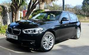 BMW Serie 1 118D AUTOMATICO, NAVEGACION, AS. CALEFACTABLES  - Foto 3