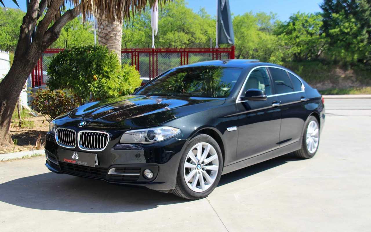 BMW Serie 5 520D AUT, NAVEGACION PROFESIONAL, TECHO, HEAD UP DISPLAY   - Foto 1