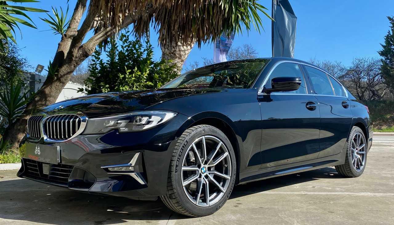 BMW Serie 3 320d AUT. deportivo, ACABADO LUXURY,  PIEL COMPLETA PARKING ASSITANT, LUZ AMBIENTE, WI-FI  - Foto 1