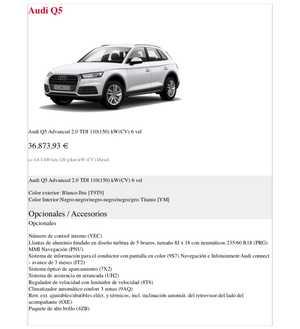 Audi Q5 Advanced 2.0 TDI 150CV 6 Vel.   - Foto 2