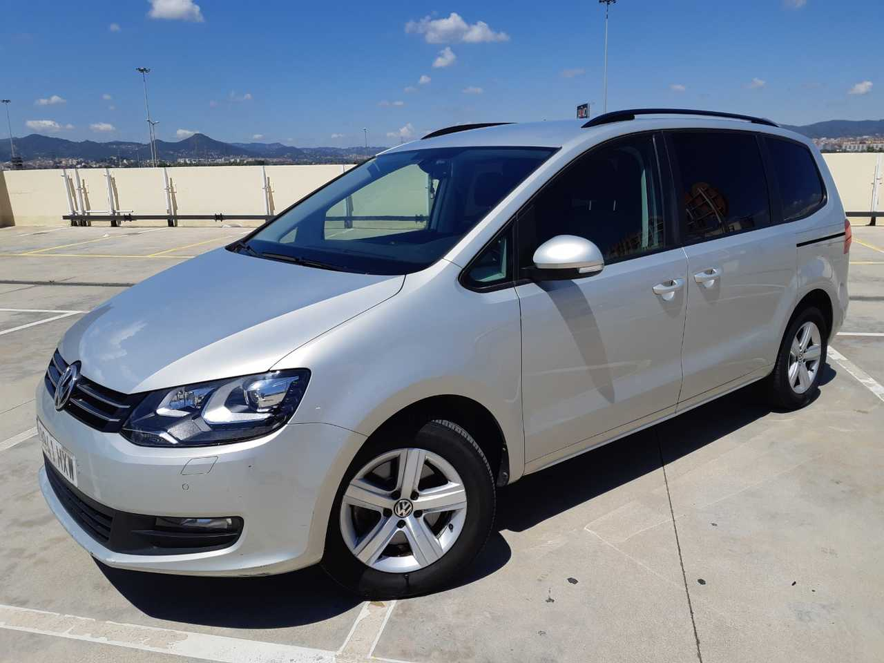 Volkswagen Sharan 2.0 140 cv TDI  7 PLAZAS ADVANCE BLUEMOTION 7 PLAZAS DE VERDAD..!!  - Foto 1