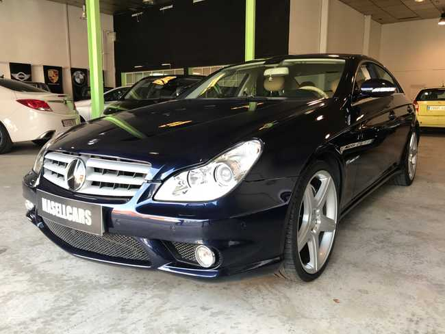 8df4e07cc Mercedes Clase CLS 55 AMG 476 CV en venta en Viladecans - MASELLCARS ...