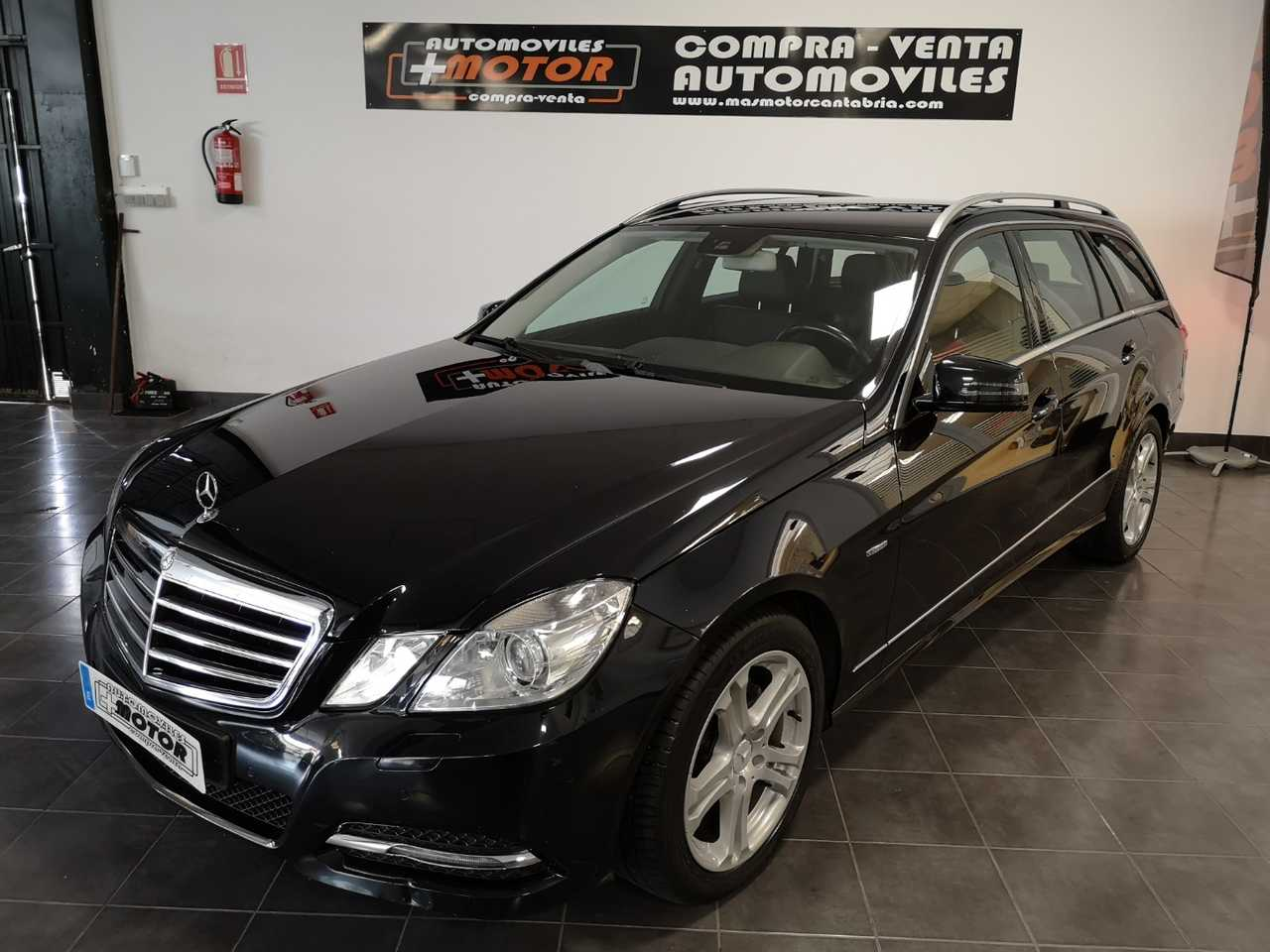 Mercedes Clase E Estate 220CDI BE Avantgarde  - Foto 1