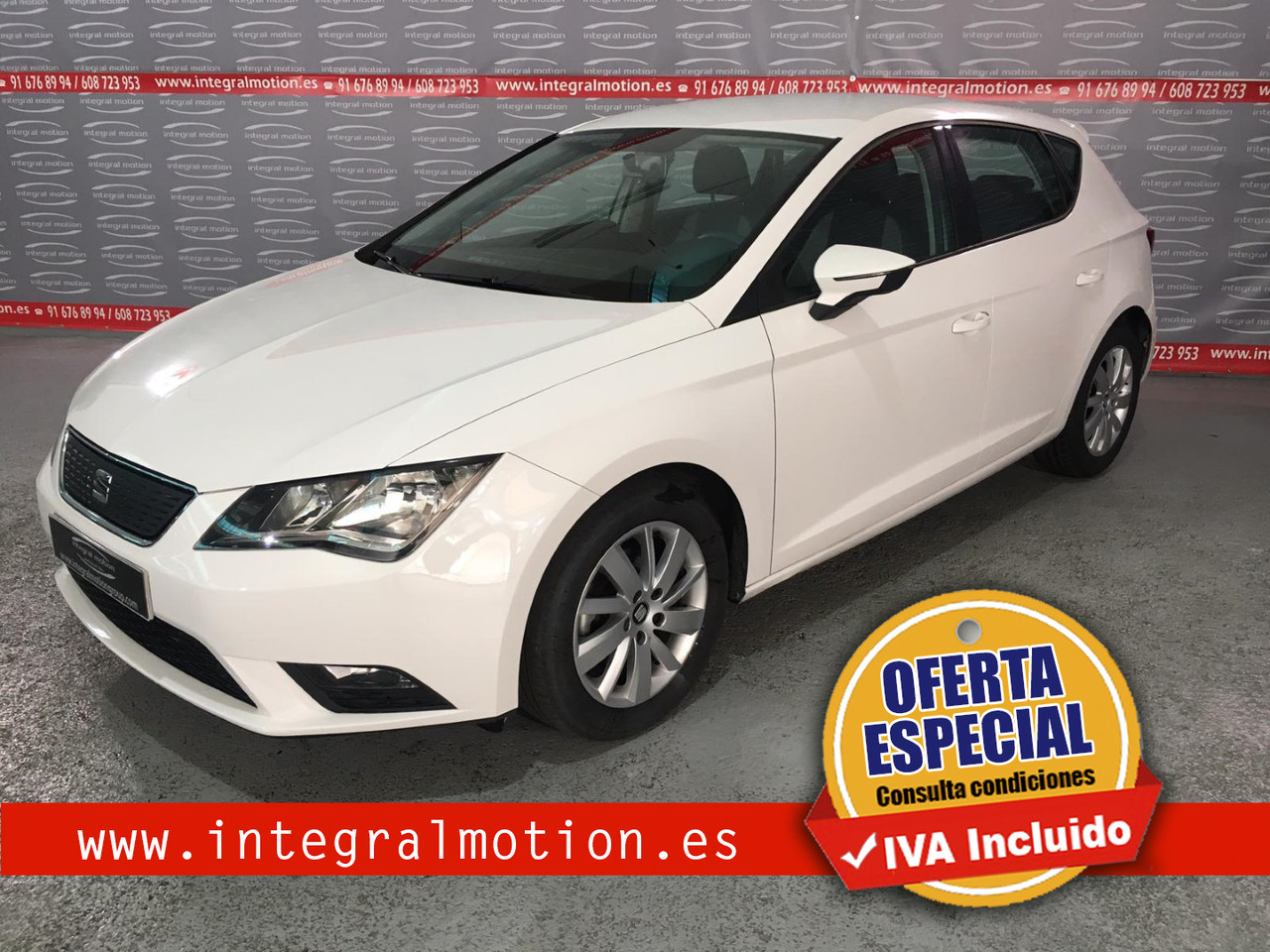 SEAT León 1.6 TDI 110cv St&Sp Reference  - Foto 1