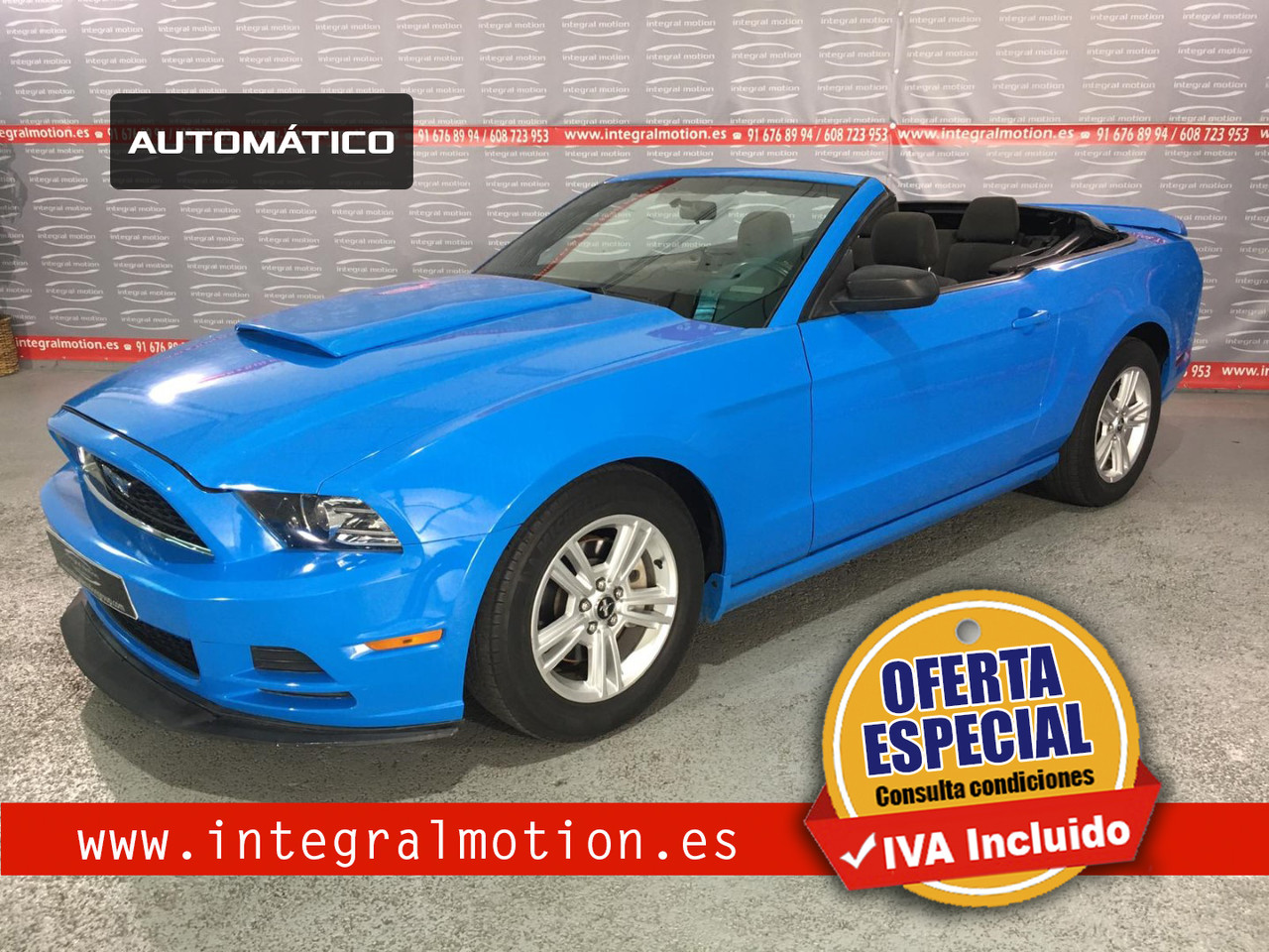 Ford Mustang Convertible  - Foto 1