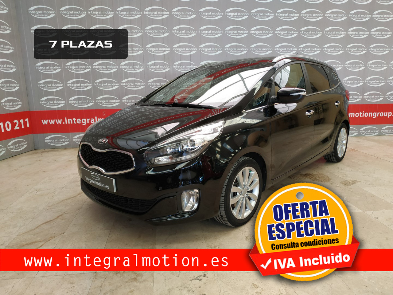 Kia Carens 1.7 CRDi VGT 136cv Emotion 7pl  - Foto 1