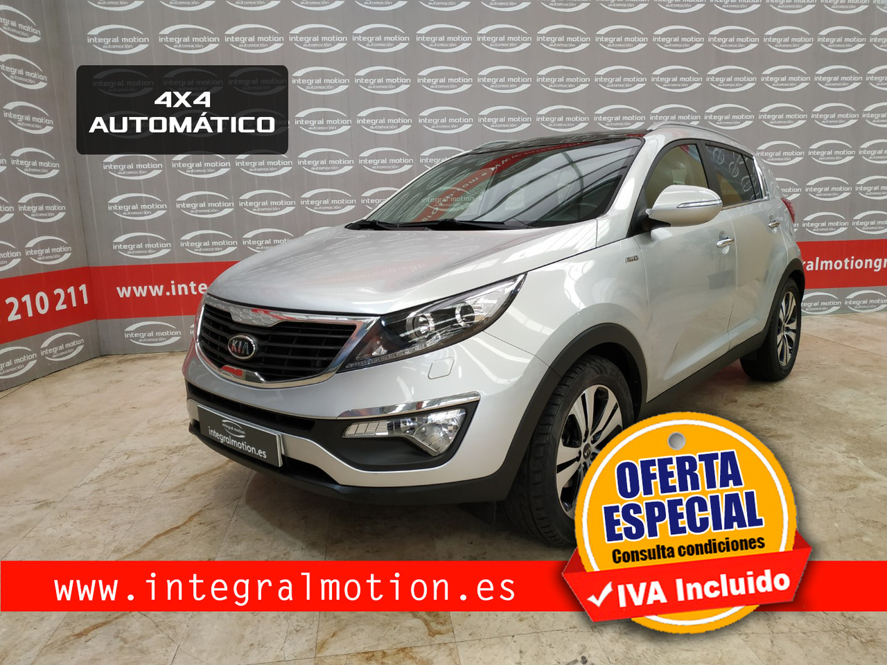 Kia Sportage 2.0 CRDI VGT Emotion Auto 4x4 136cv  - Foto 1