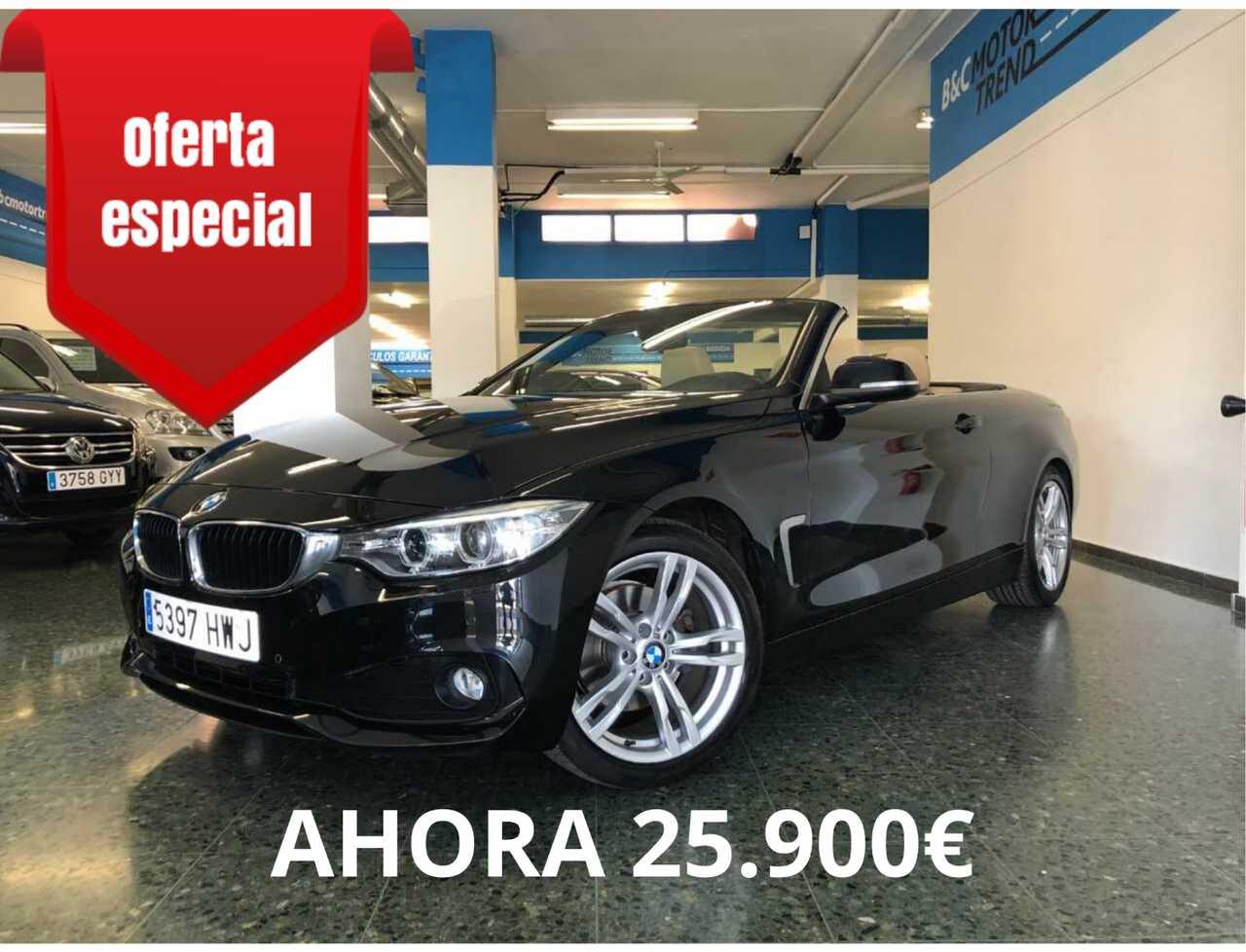 BMW Serie 4 Cabrio 420D 185cv Sport *NACIONAL + LIBRO REVISIONES*   - Foto 1