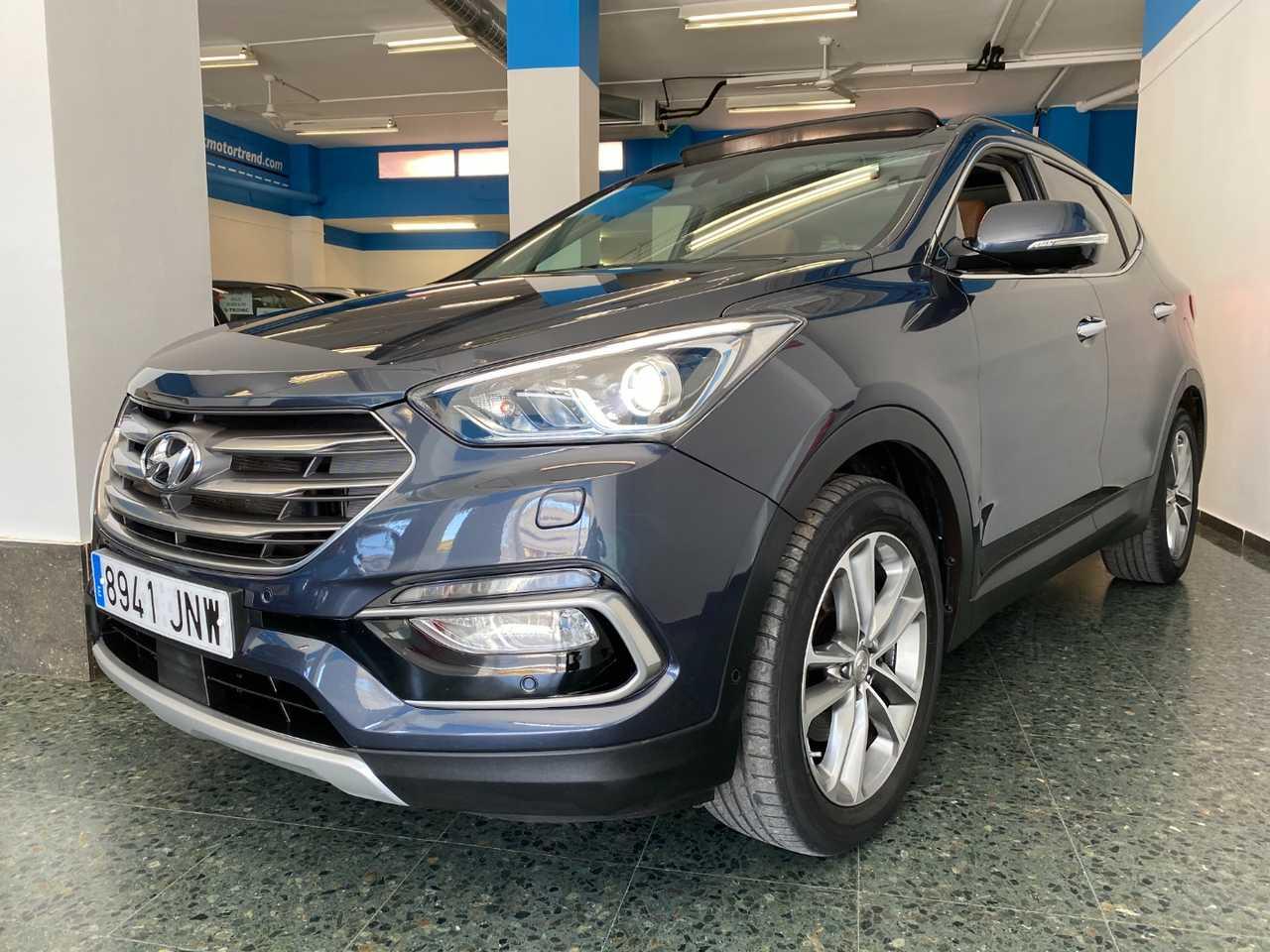 Hyundai Santa Fe 2.2 CRDI STYLE SAFE BROWN ED AUTO 4X4 7 PLAZAS   - Foto 1