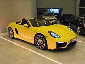 Porsche Boxster 981 GTS Racing Yellow   - Foto 3