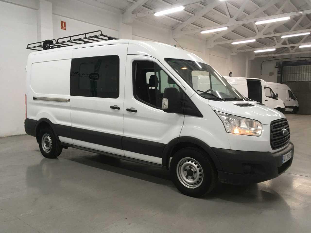 Ford Transit  Minibus y Kombi 7 Plazas FT 350 L3H2 2.2 TDCI 125cv + Separador de carga   - Foto 1