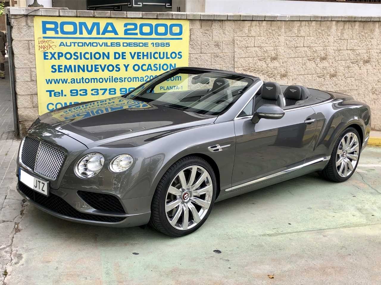 Bentley Continental GT Convertible V8 NACIONAL 8.000 KMS   - Foto 1