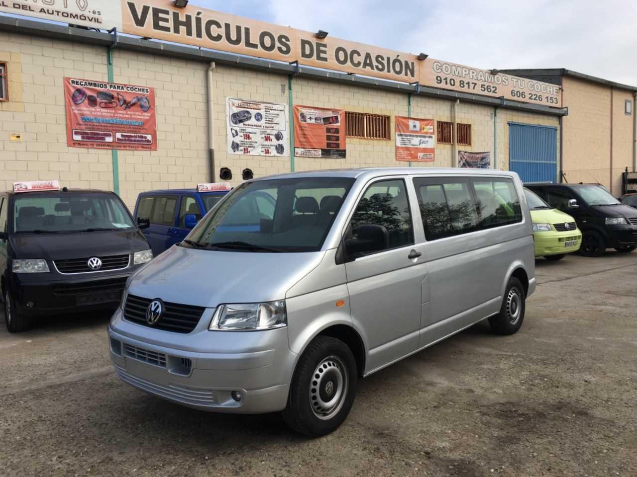 Volkswagen Transporter 1.9 TDi 9 Plazas 102cv   - Foto 1