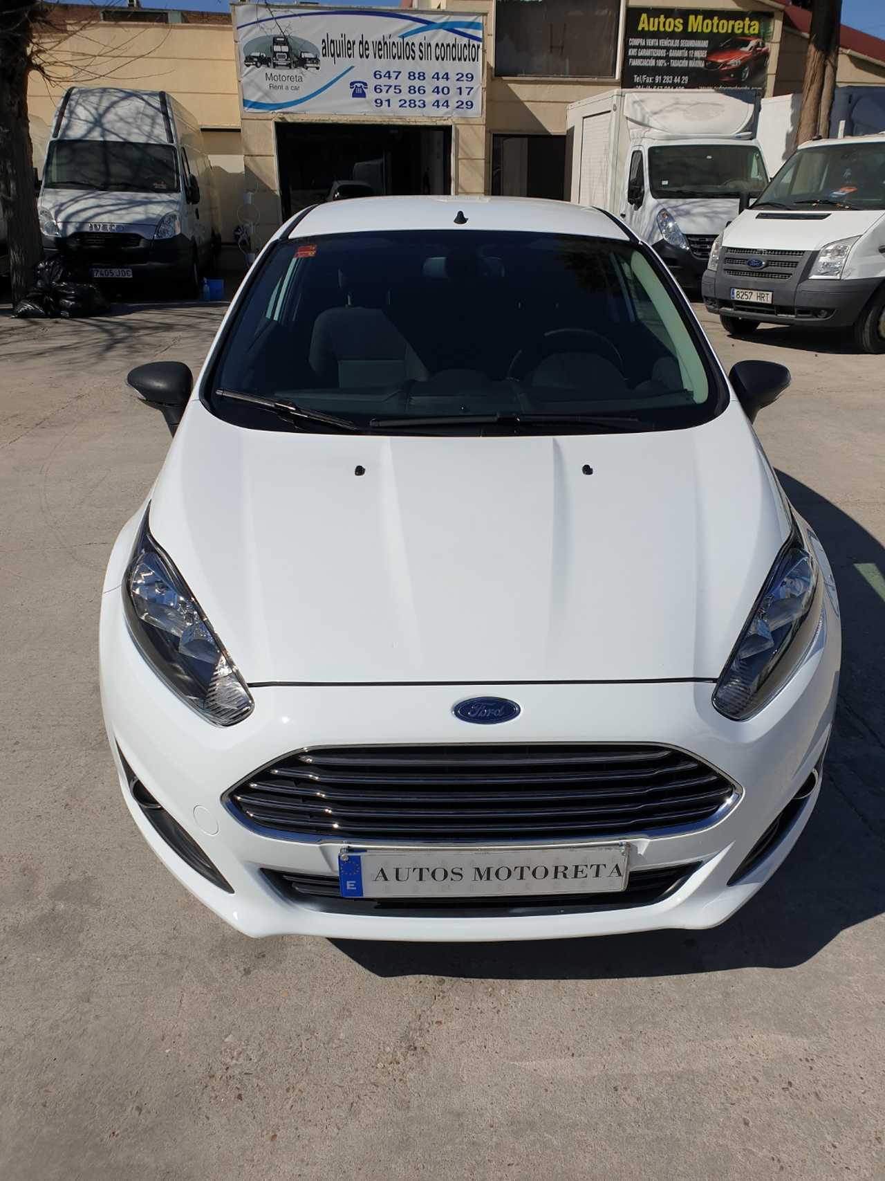 Ford Fiesta VAN 1.5TDCI  - Foto 1