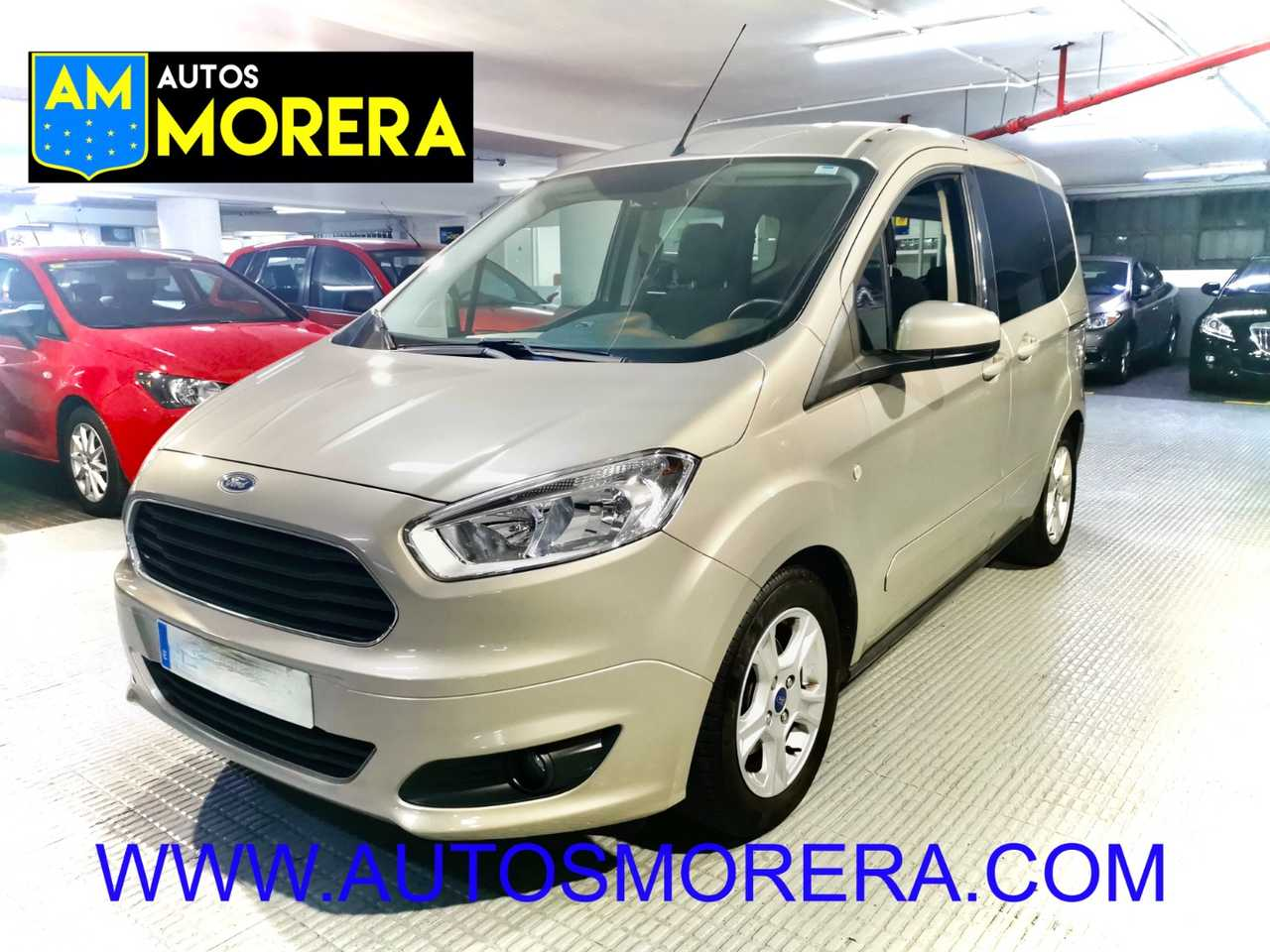 Ford Transit Courier 1.0 EcoBoost 100cv Trend. Impecable!!! Super cuidado!!!   - Foto 1