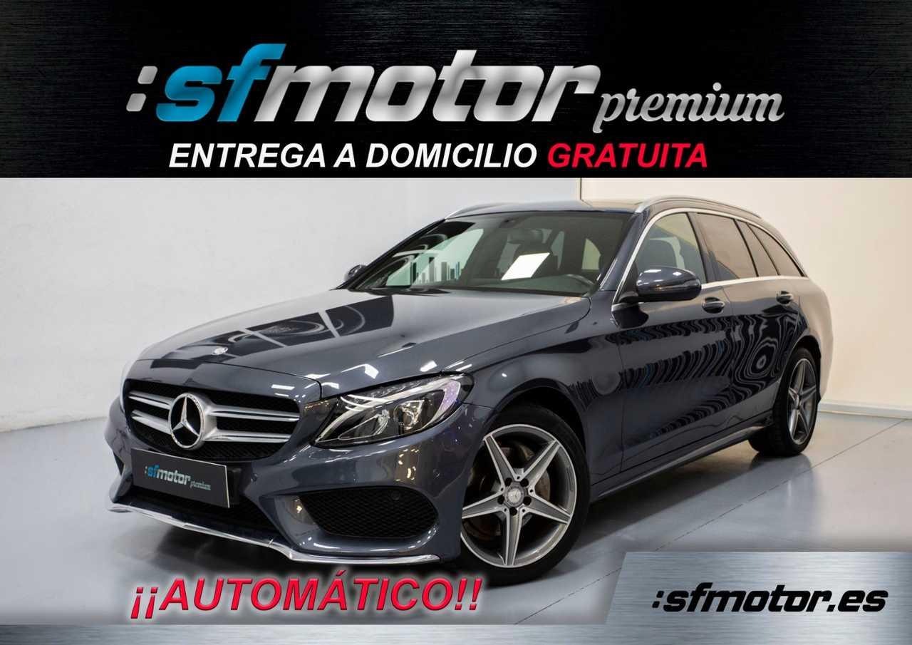 Mercedes Clase C Estate 220d BlueTEC AMG Auto 170cv   - Foto 1