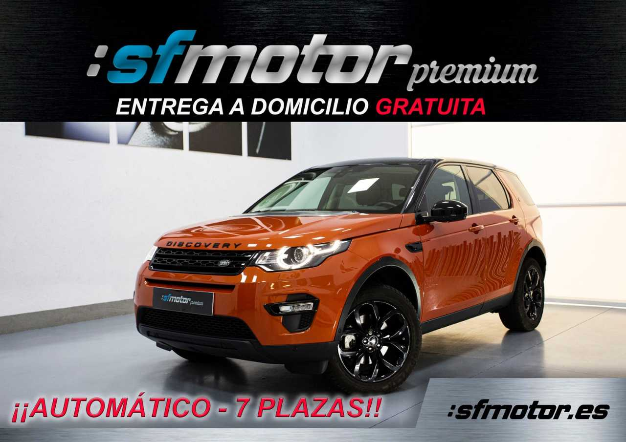 Land-Rover Discovery Sport 2.0L TD4 180cv Auto HSE Luxury 7 plazas    - Foto 1