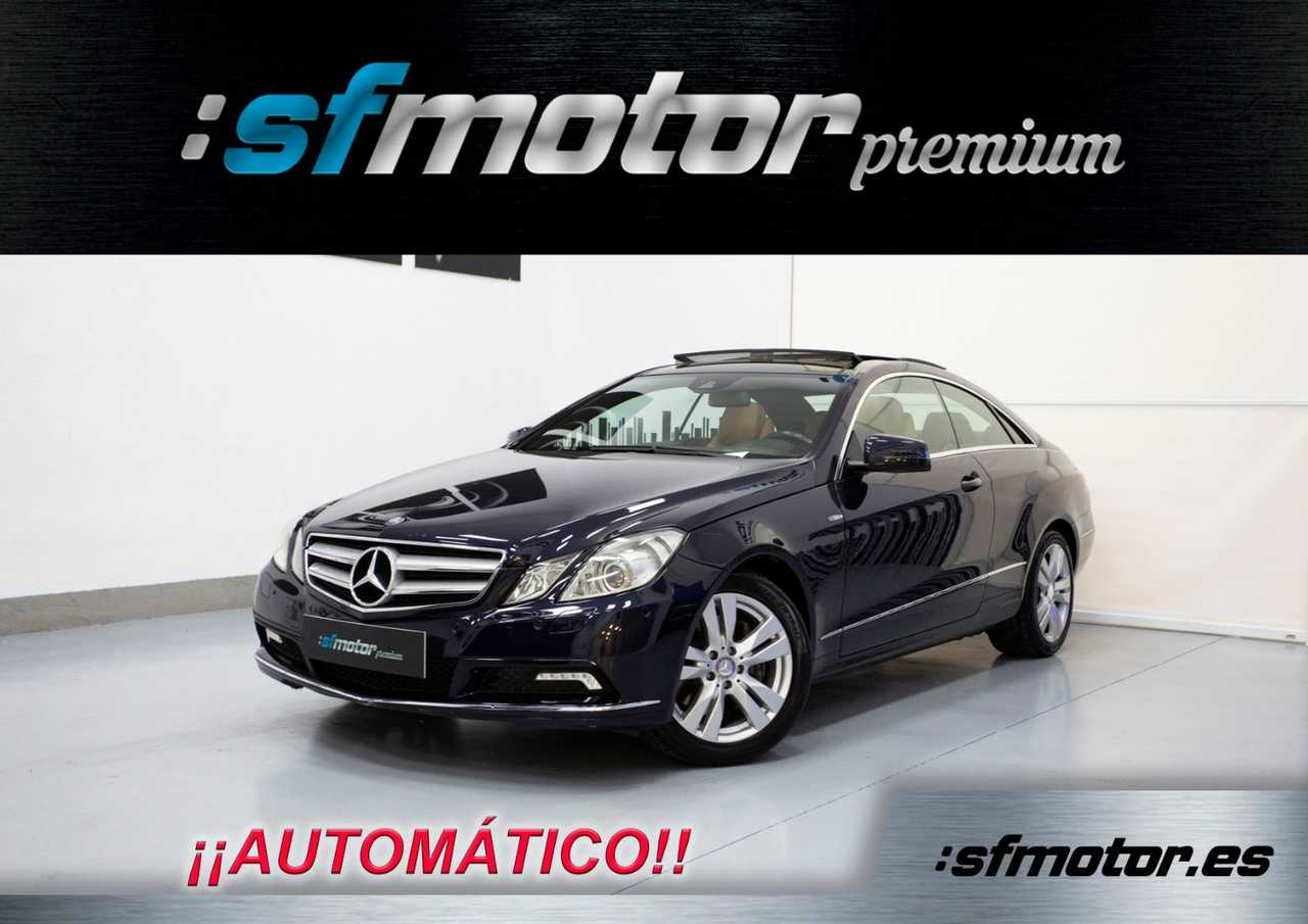 Mercedes Clase E Coupé 350 CDI BlueEfficiency Avantgarde Auto 231cv   - Foto 1