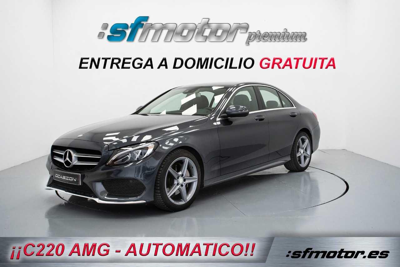 Mercedes Clase C C220 BlueTEC AMG Line 170cv Auto   - Foto 1