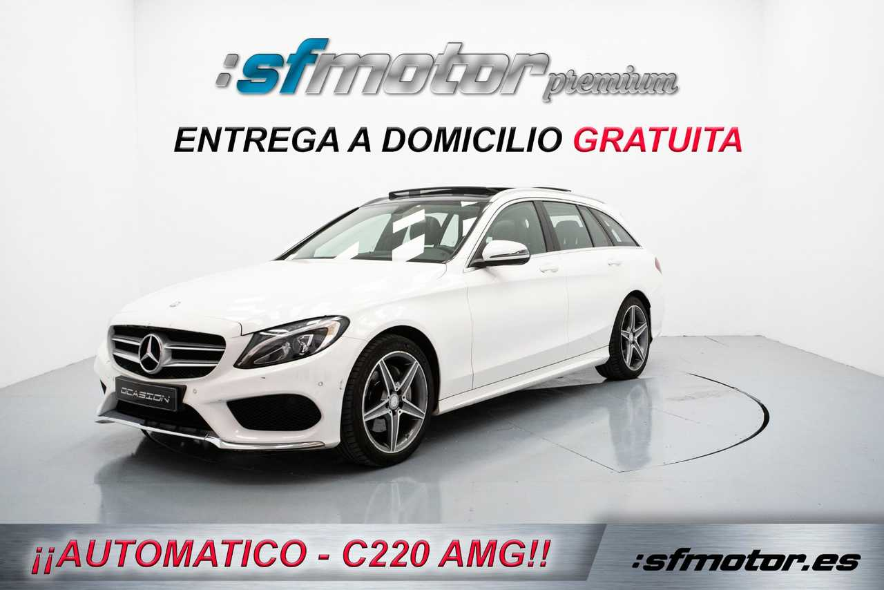 Mercedes Clase C Estate C220d BlueTEC AMG Line 170cv   - Foto 1