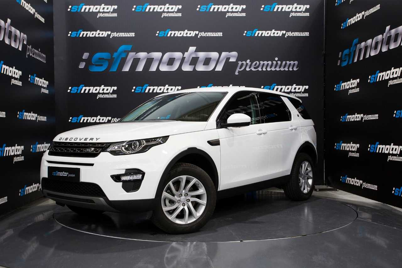 Land-Rover Discovery Sport Discovery Sport SD4 4WD HSE AT 7 asientos   - Foto 1