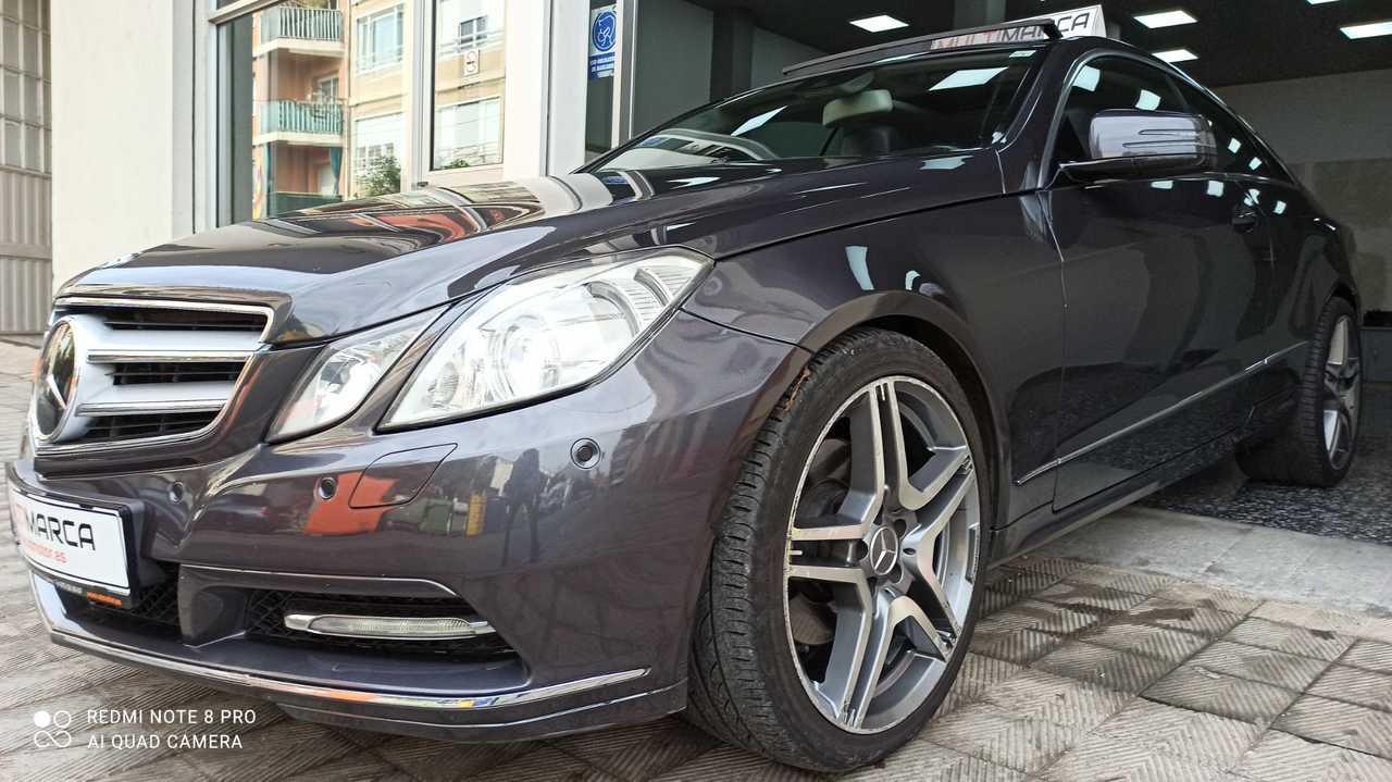 Mercedes Clase E Coupé 350 cdi