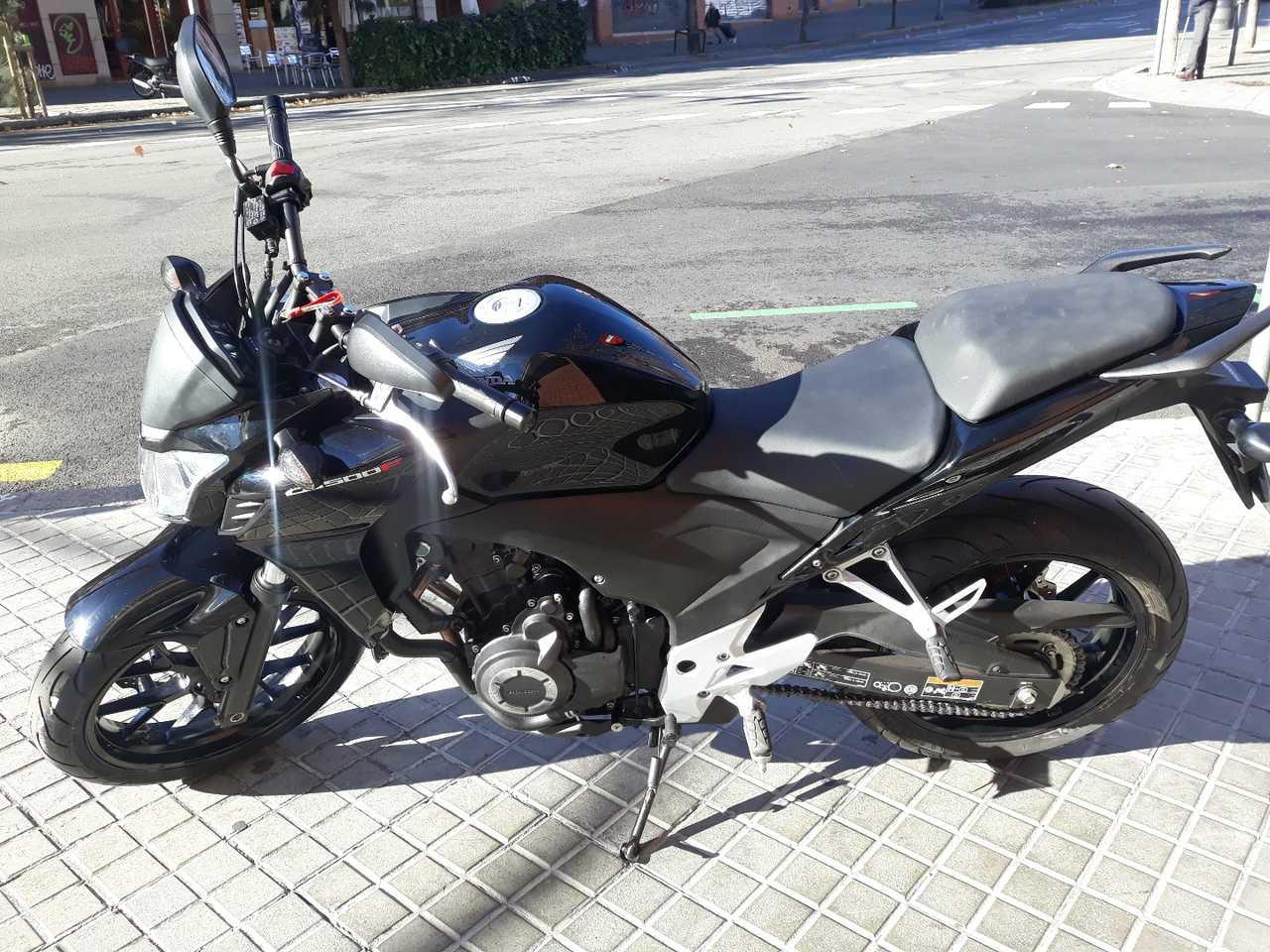 Honda CB 500 F  - Foto 1