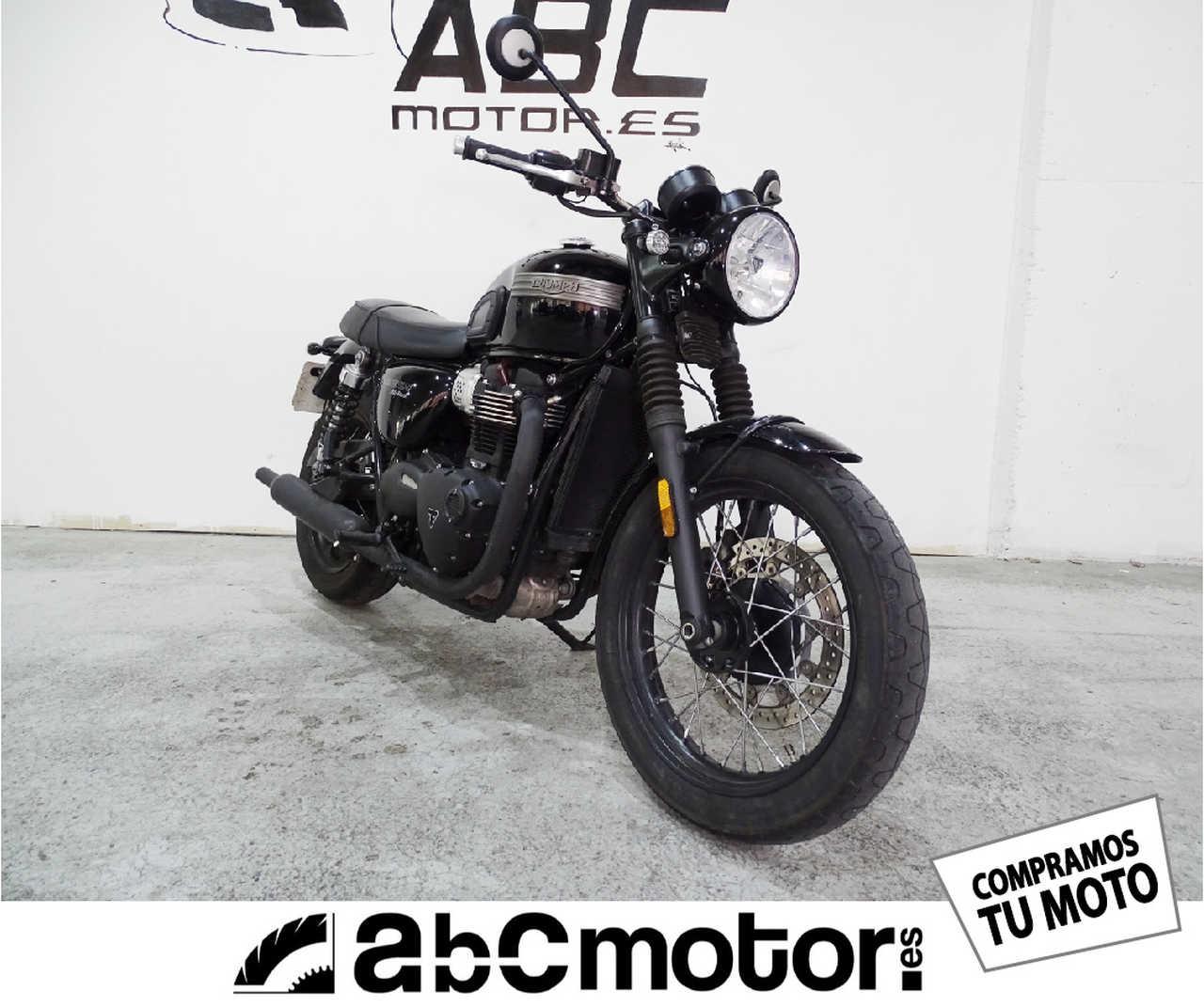 Triumph Bonneville T100 Black  - Foto 1